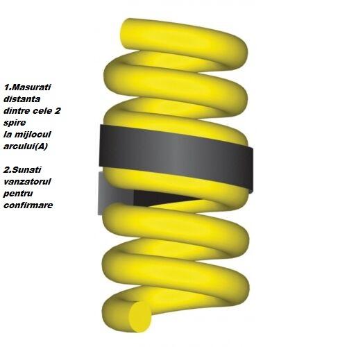 Inaltatoare arcuri cauciuc intaritor arc 52-65 mm, set 2 bucati [5]