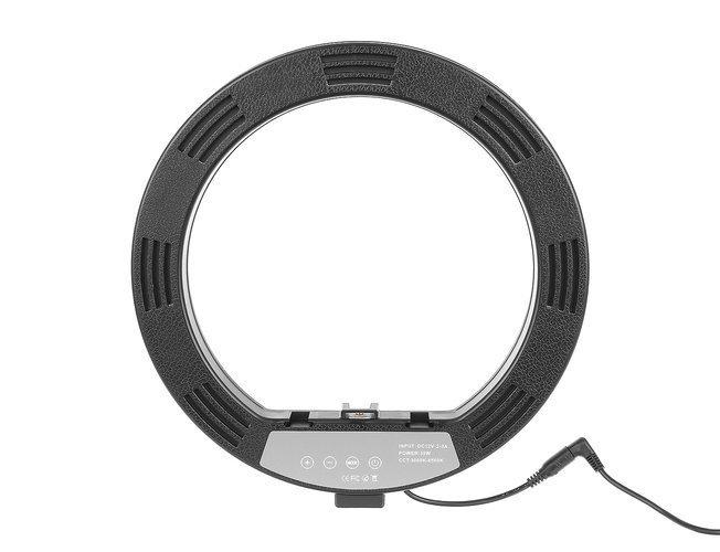 Lampa foto circulara LED cu telecomanda, lumina calda/rece/neutra  + Trepied cu Inaltime Reglabila Suport pentru Telefon si Aparat Foto [10]