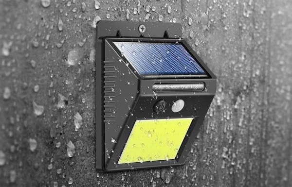 Lampa solara de perete cu 48 de leduri cu senzor de lumina si miscare [2]