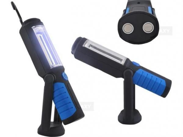Lanterna led de lucru pentru atelier 3W cu suport magnetic si carlig lampa [0]