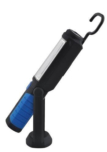 Lanterna led de lucru pentru atelier 3W cu suport magnetic si carlig lampa [3]