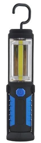 Lanterna led de lucru pentru atelier 3W cu suport magnetic si carlig lampa 2