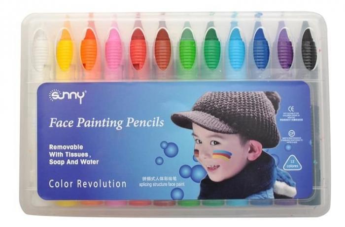 Make up pictura fata copii petrecere set 12 culori non alergice [1]