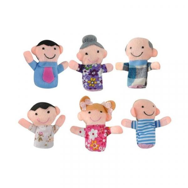 Set de păpuși cu degetele Familie 6 buc [2]