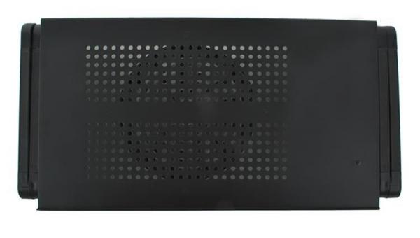 Masuta rabatabila pentru laptop inălțime reglabilă USB cooler răcire 27X48 cm  cu  Mouse  Pad negru [2]