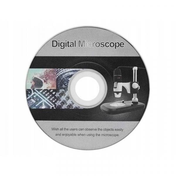 Microscop digital portabil 1600X, USB, foto-video, 8 LED-uri, zoom digital 5X [14]