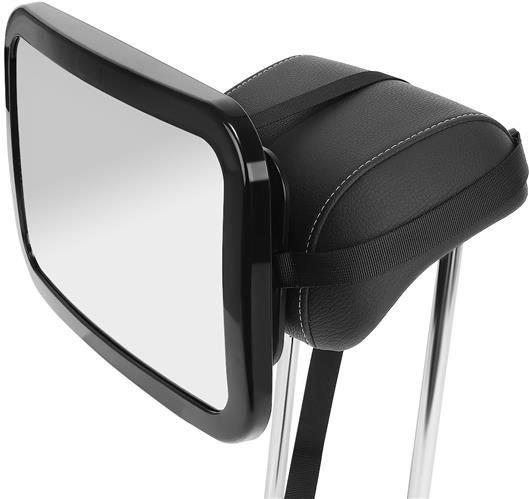 Oglinda auto vizibilitate bebe, retrovizoare montare tetiera, suprafata anti-alunecare, 30x18.7x2.5 cm 9