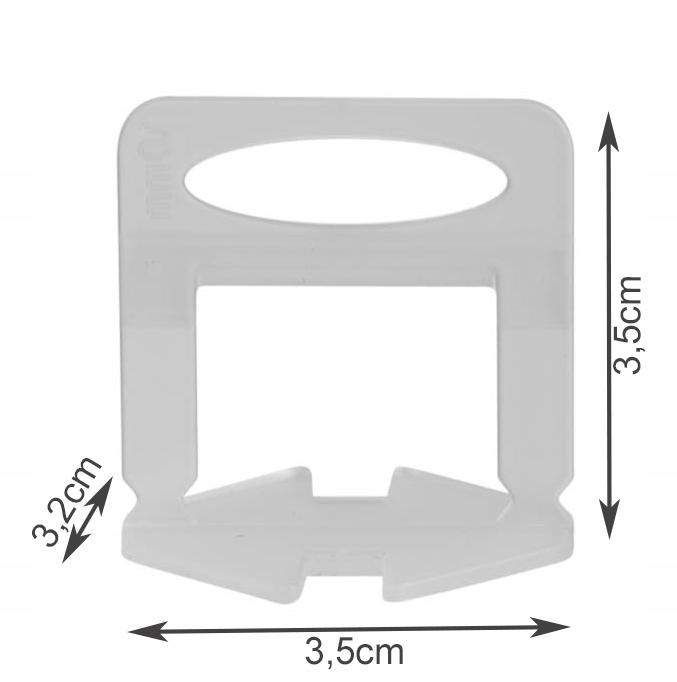 Pachet nivelare gresie  - 651 bucati contine 200 clipsuri 1 mm ,200 clipsuri 1.5 mm 100 clipsuri 2 mm 150 pene + cleste [2]