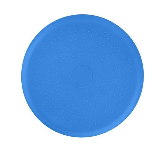 Perna pentru echilibru si masaj gonflabila, cu pompa, diametru 34 cm, albastru [2]
