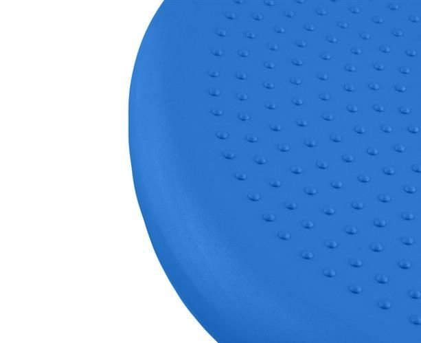 Perna pentru echilibru si masaj gonflabila, cu pompa, diametru 34 cm, albastru [4]