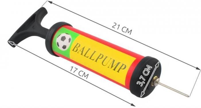 Perna pentru echilibru si masaj gonflabila, cu pompa, diametru 34 cm, albastru [10]
