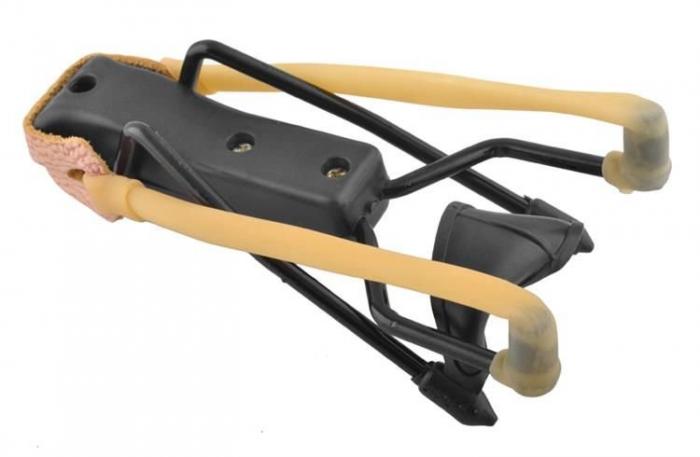 Prastie metal cu maner antiderapant cu suport antebrat si corzi elastice [6]