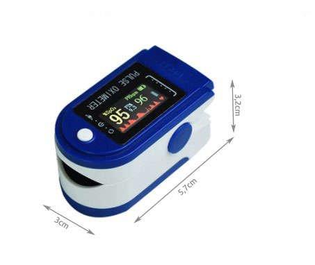 Pulsoximetru Monitor puls , saturația oxigenului din sânge si indicele de perfuzie 2