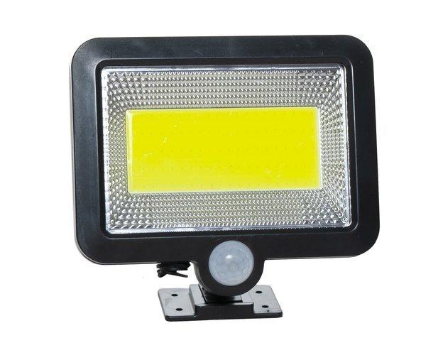 Reflector solar 100 LED-URI, Senzor de miscare  Raza 5 M, IP65 [1]