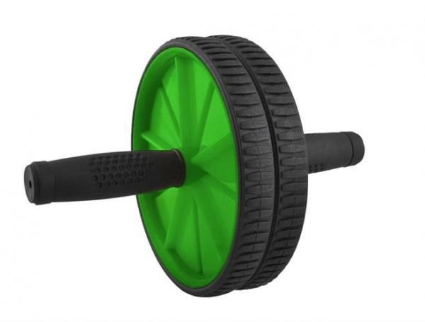 Rola abdominala dubla 2 in 1 pentru exercitii fitness culoare verde 1