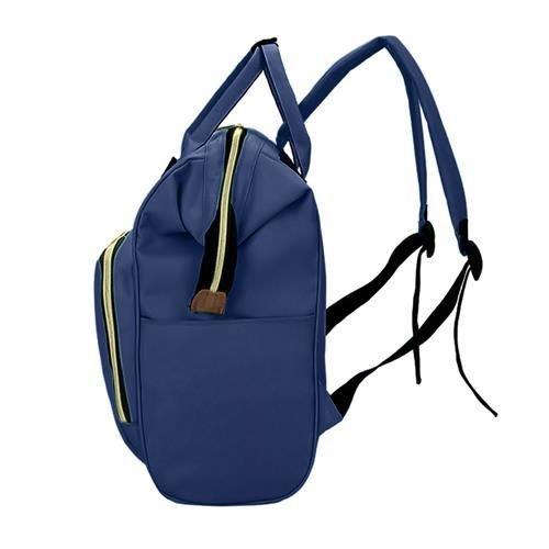Rucsac geanta multifunctionala pentru mamici, Living Traveling atasabil la carucior, organizator articole,Albastru Inchis [7]