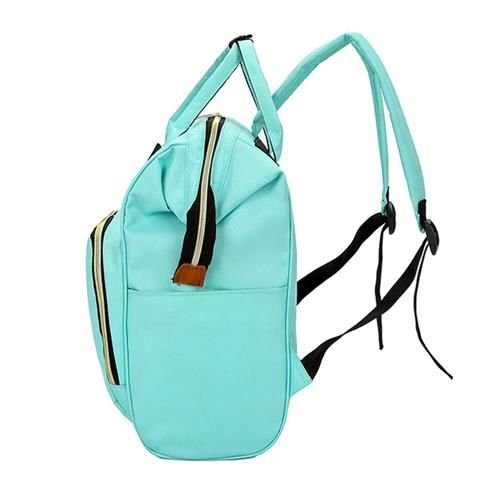Rucsac geanta multifunctionala pentru mamici Living Traveling atasabil la carucior organizator articole bleu [1]