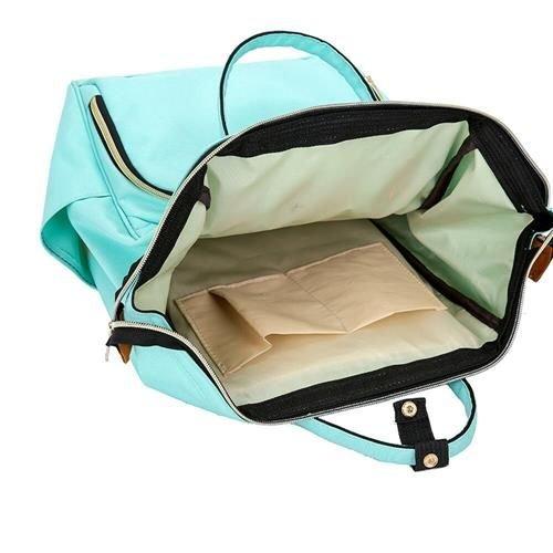 Rucsac geanta multifunctionala pentru mamici Living Traveling atasabil la carucior organizator articole bleu [7]