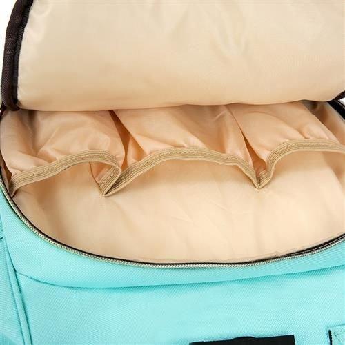 Rucsac geanta multifunctionala pentru mamici Living Traveling atasabil la carucior organizator articole bleu [6]