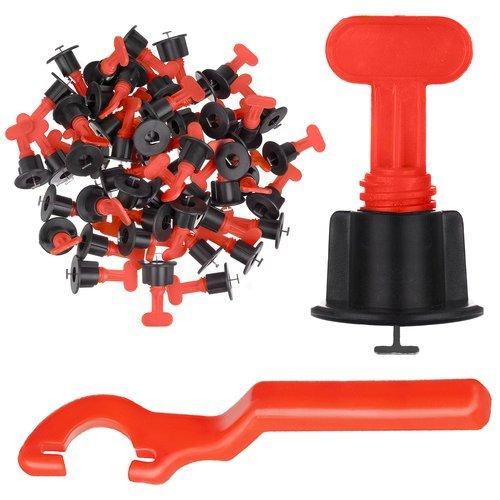 Set 50 tije metalice refolosibile, pentru rost de la 1.5 mm, sistem nivelare gresie si faianta [1]