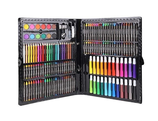 Set Complet pentru Desenat si Pictat, 168 de Elemente, multicolor [6]