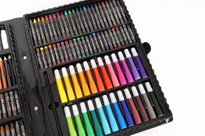 Set Complet pentru Desenat si Pictat, 168 de Elemente, multicolor [4]
