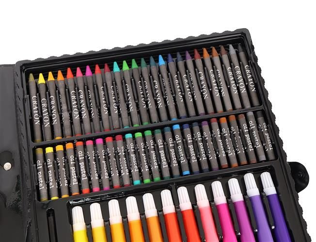 Set Complet pentru Desenat si Pictat, 168 de Elemente, multicolor [3]