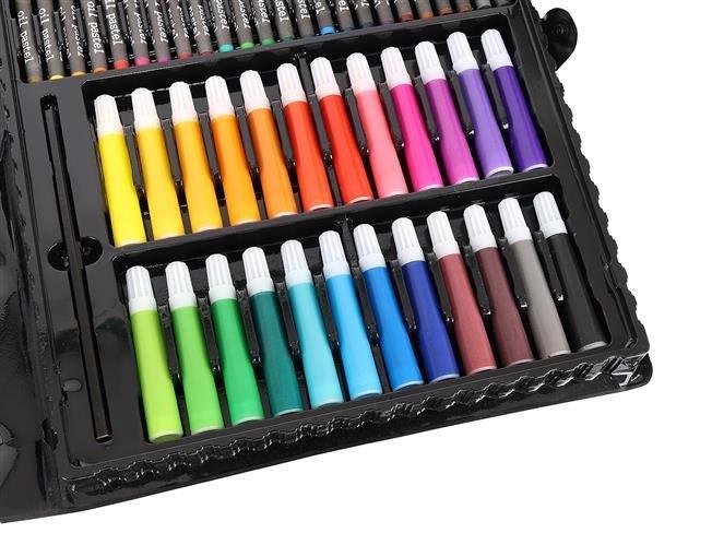 Set Complet pentru Desenat si Pictat, 168 de Elemente, multicolor [5]