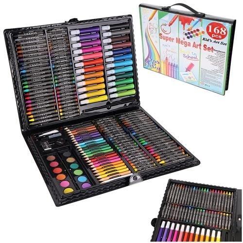 Set Complet pentru Desenat si Pictat, 168 de Elemente, multicolor [0]