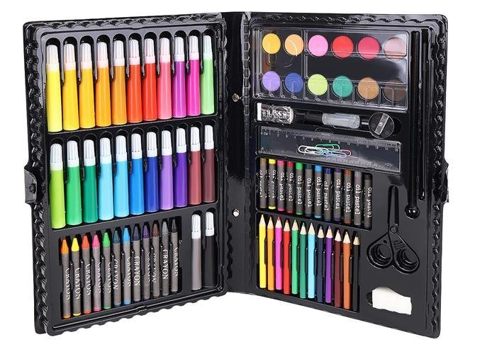 Set Complet pentru Desenat si Pictat, 86 de Elemente, Multicolor [4]
