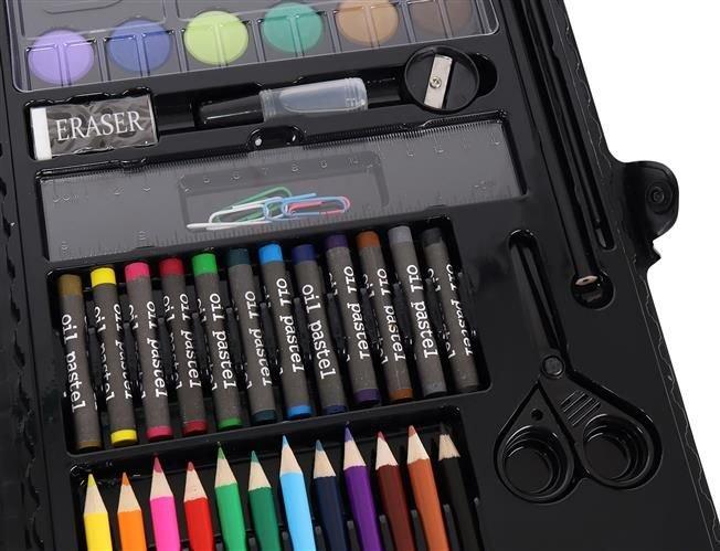 Set Complet pentru Desenat si Pictat, 86 de Elemente, Multicolor [8]