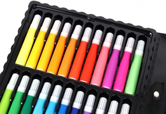 Set Complet pentru Desenat si Pictat, 86 de Elemente, Multicolor [6]