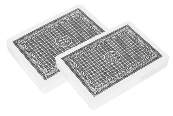 Set de poker cu 500 jetoane greutate jeton 13g include servieta aluminiu 5 zaruri 2 pachete carti de joc [3]