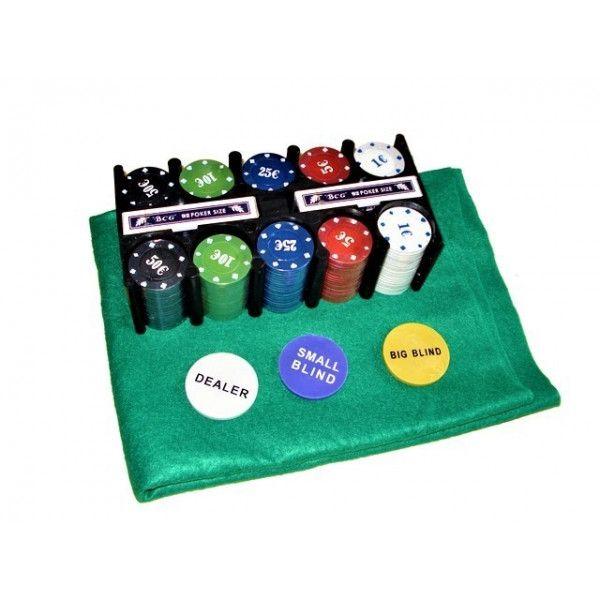 Set Poker Texas  200 jetoane si carti, cutie metalica, accesorii [3]