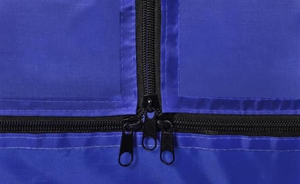 Spatiu de joaca tarc pentru copii tip piscina pliabil dimensiune 115x65 cm culoare Albastru inchis [4]
