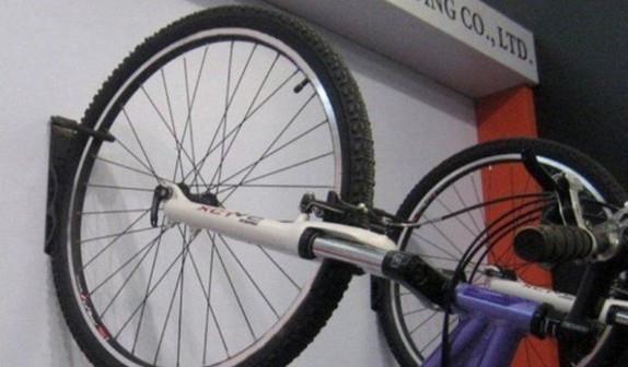 Suport bicicleta de perete depozitare prindere carlig din otel maxim 25 kg  accesorii incluse 1buc 5