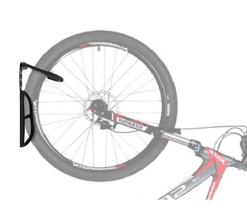 Suport bicicleta de perete depozitare prindere carlig din otel maxim 25 kg  accesorii incluse 1buc 7
