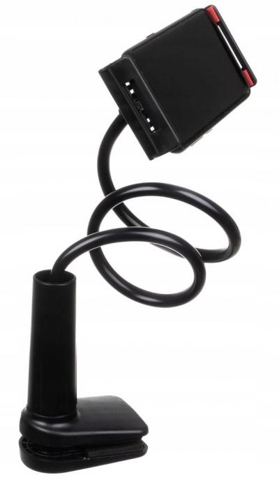 Suport flexibil  pentru telefon sau tableta intre 11-15cm, rotire 360, lungime 75 cm [3]