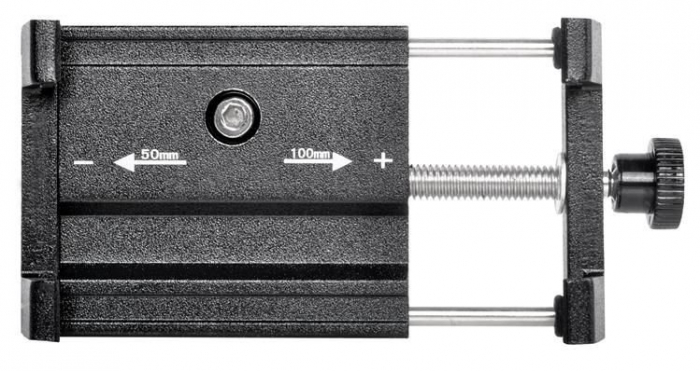 Suport telefon pentru bicicleta,Malatec universal, reglabil 50-100 mm, aluminiu [2]