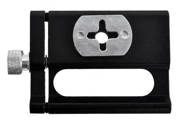Suport telefon din aluminiu pentru bicicleta cu prindere pe ghidon culoare negru [4]