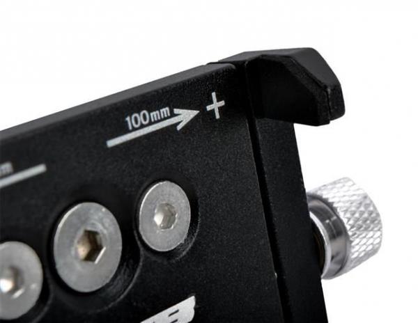 Suport telefon din aluminiu pentru bicicleta cu prindere pe ghidon culoare negru [3]