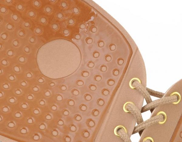 Sutien invizibil cu push-up si parte adeziva marime B, fara bretele, culoare Bej, [7]