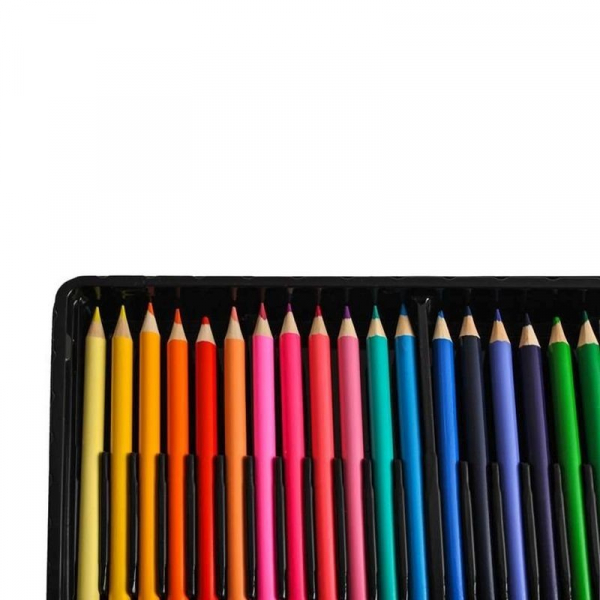 Trusa desen si pictura pentru copii, 258 piese, acuarele, creioane, pensule, carioci, valiza depozitare 12