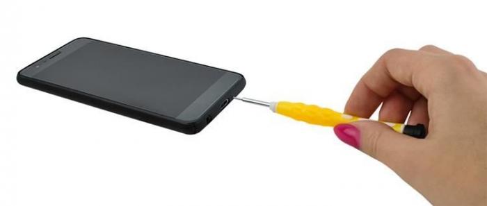 Trusa reparat smartphone-uri 38 piese surubelnite penseta carcasa depozitare [3]