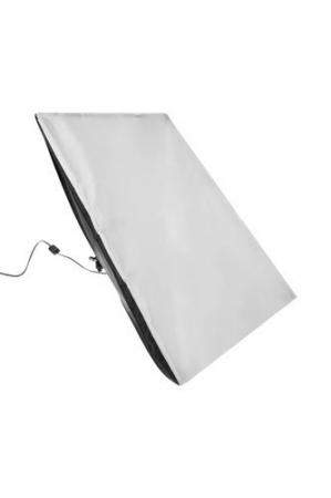 Softbox pentru Studio Foto cu Suport Trepied Reglabil 80-200cm 50x70cm  set 2 bucati +2 becuri 150w incluse [3]