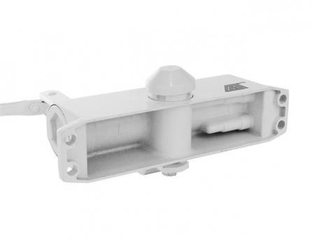 Amortizor hidraulic pentru usa, 40-60 kg,reglare dubla aluminiu alb [8]