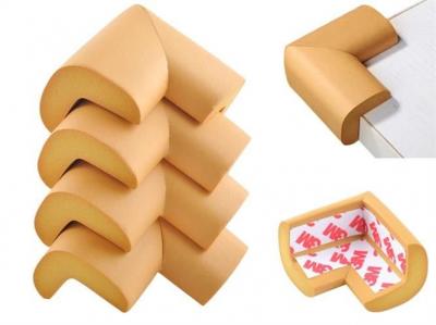 Aparatori moi pentru colturi masa forma L camera copilului,culoare maro set/4buc0