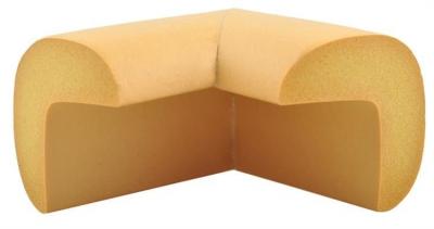 Aparatori moi pentru colturi masa forma L camera copilului,culoare maro set/4buc1