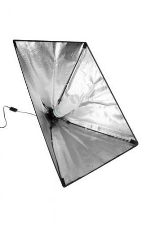 Softbox pentru Studio Foto cu Suport Trepied Reglabil 80-200cm 50x70cm  set 2 bucati +2 becuri 150w incluse [4]