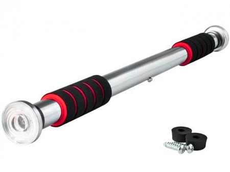 Bara tractiuni telescopica cu prindere pe usa, 61-100 cm, otel [0]